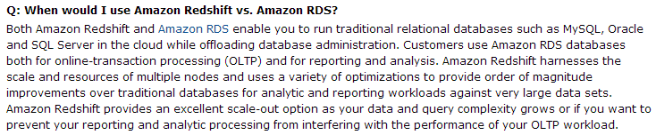RDS_vs_Redshift_QnA_Amazon_Page_ART