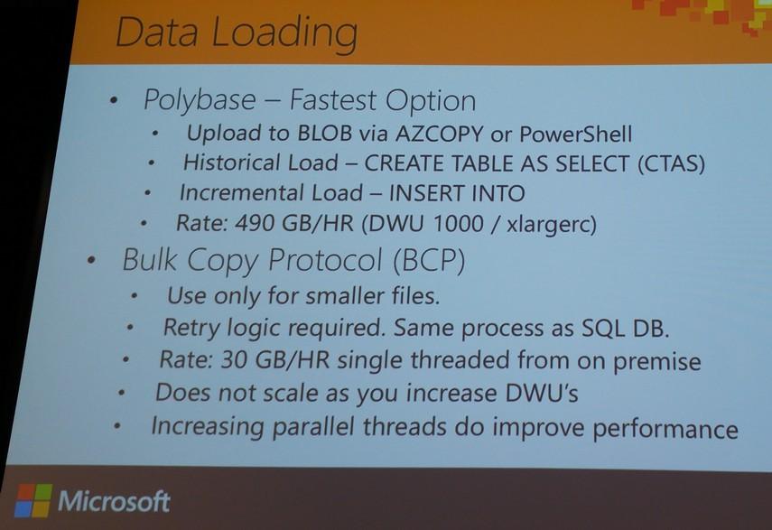 bicortex » Blog Archive » Microsoft Azure SQL Data Warehouse