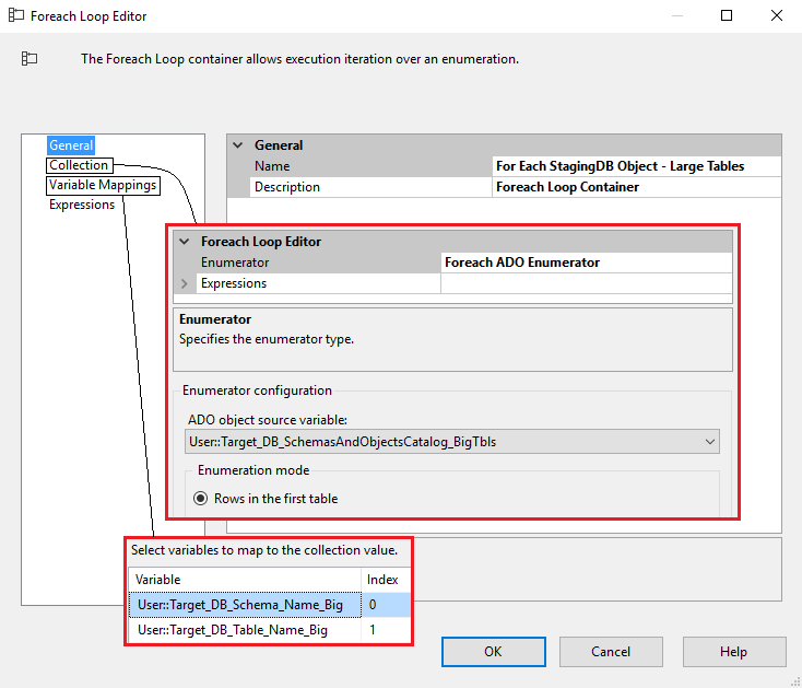 Data_Acquisition_Framework_Part4_SSIS_ForEachLoop_Editor