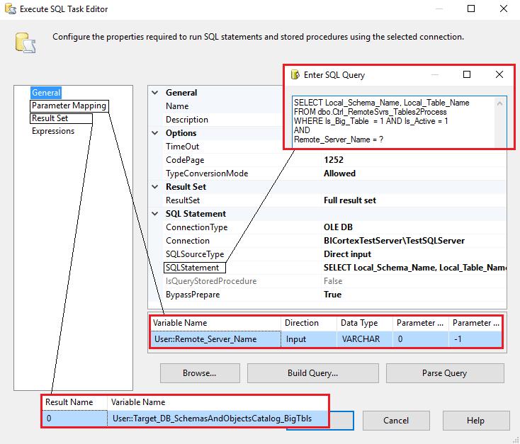 Data_Acquisition_Framework_Part4_SSIS_Get_Big_Tables_SQL_Task