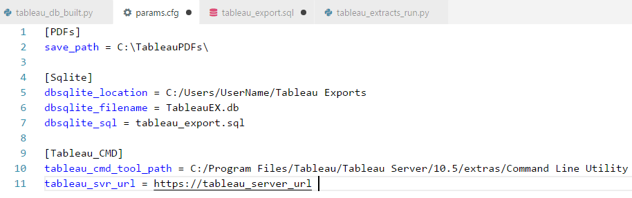 bicortex » Blog Archive » Automating Tableau Workbook Exports Using