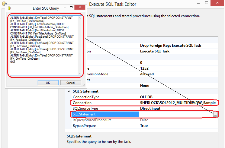 how to create data mart in sql